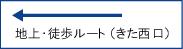 地上・徒歩ルート(きた西口~)―詳細地図(pdf 780KB)